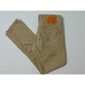 Levi's 511 28 X 30 Skinny Fit Corduroy Pants